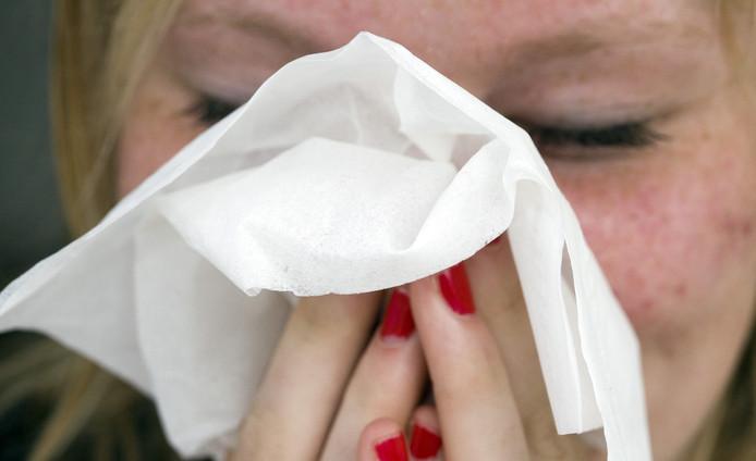 De kenmerken van hooikoorts zijn onder andere niezen, jeuk in de neus een verstopte neus of een loopneus.