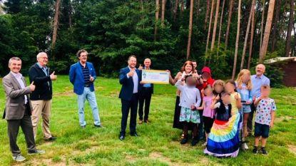 Ter Heide in Rijmenam ontvangt cheque van 10.000 euro van Lions