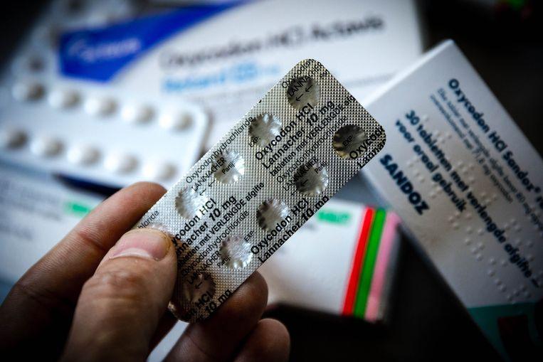 Verpakkingen van een pijnstiller. Beeld ANP