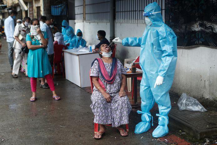 L'Inde a connu un pic de 22.771 nouvelles infections en 24 heures.