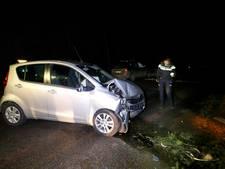 Automobiliste botst tegen boom in Eersel