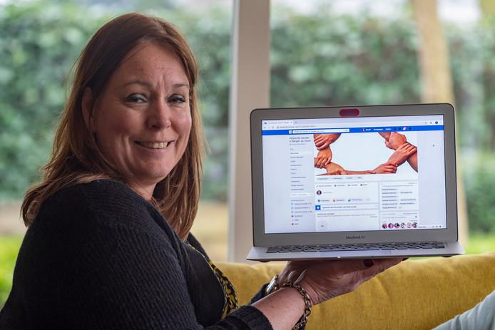 Mariël van Loenhout, heeft het initiatief genomen voor een Facebookpagina waarop Bergenaren hulp kunnen aanbieden.