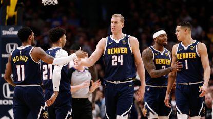 Denver wint voor eigen publiek topaffiche tegen LA Clippers