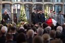 De begrafenis van Walter Lubcke.