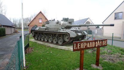5.000 euro om Leopardtank bij domein Cabour op te blinken