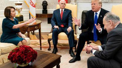 Trump vernedert Huisvoorzitter Nancy Pelosi en verbiedt haar overheidsvliegtuig te nemen naar België