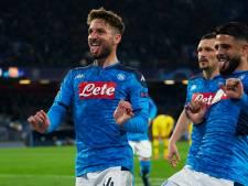 Recordgoal Mertens niet voldoende voor Napoli tegen Barcelona