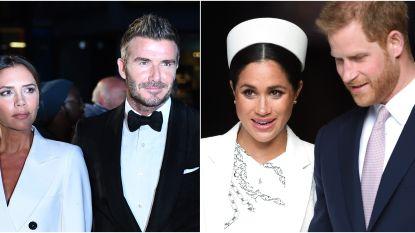 """David Beckham trots op prins Harry: """"Het geluk van je kind staat altijd voorop"""""""