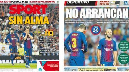 """Catalaanse pers windt er geen doekjes om: """"Supercopa voor Real, superprobleem voor Barça"""""""