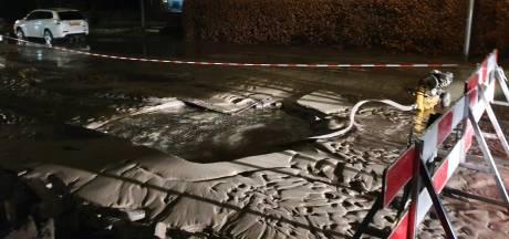 En opnieuw zit een (klein) deel van Hoogland zonder water door leidingbreuk