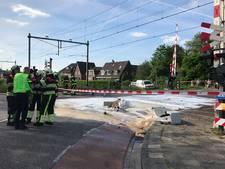 Trein botst tegen vrachtwagen in Boxtel; treinverkeer stilgelegd