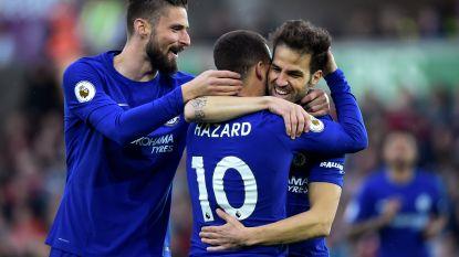 FT buitenland 28/04: Knappe assist Hazard helpt Chelsea aan zege - Benteke weet weer wat scoren is - Januzaj pakt uit in Baskische derby