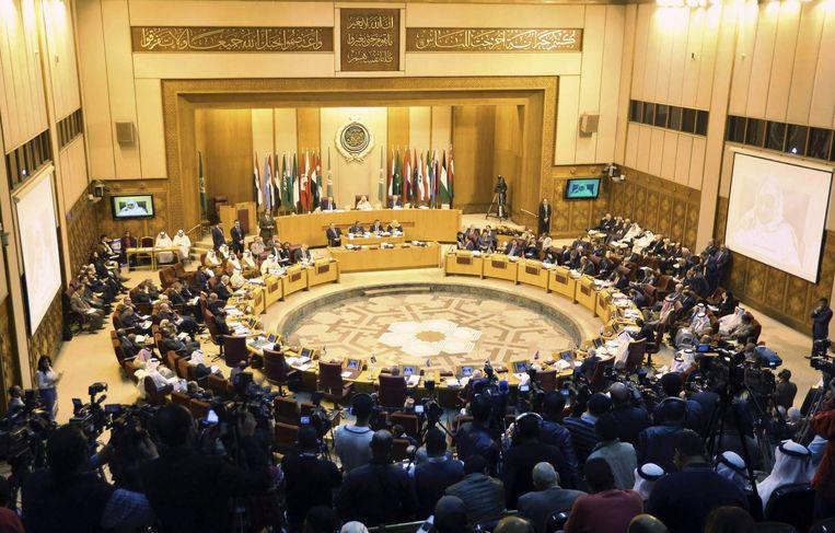 Bijeenkomst van de Arabische Liga. Beeld reuters