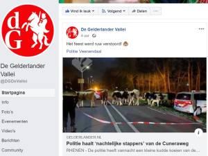 Het nieuws uit Ede, Rhenen, Veenendaal en Wageningen volg je ook via Facebook!