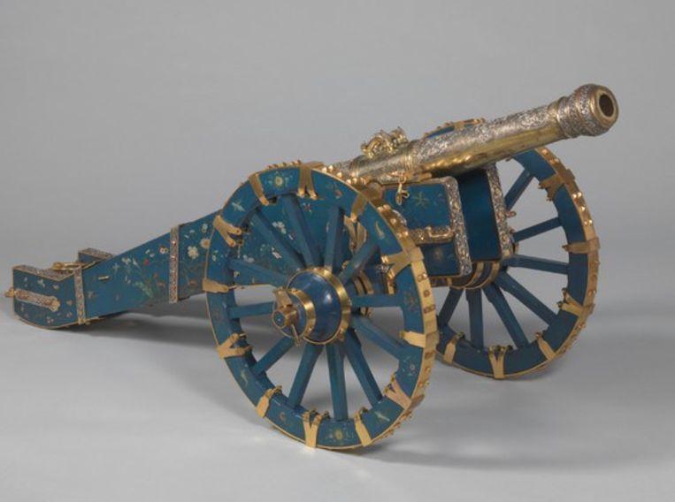 Kanon van koning Kandy Beeld RV