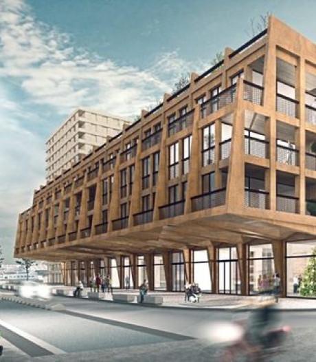 Nieuwe, luxe appartementen zweven boven de straten van Antwerpen