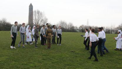 Duitse en Britse leerlingen ontdekken verleden