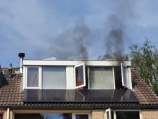 Brand in woning Leusden: bewoners en hun hond met de schrik vrij