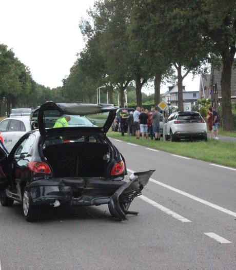 Gewonde bij kettingbotsing met 4 auto's in Etten