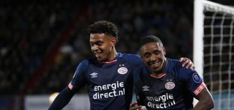 PSV'er Malen scoort ook tegen Willem II: 'Er zat wel een beetje fortuin bij'
