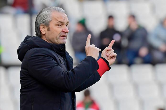 """Bernd Storck: """"Ik merkte na de match tegen Antwerp dat de supporters er nog altijd in geloven."""""""