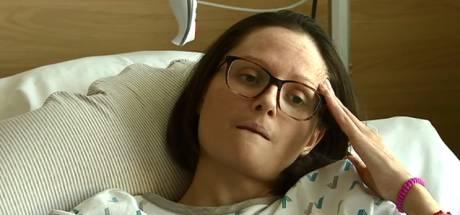 Karen ligt twee jaar na aanslagen Brussel nog steeds in het ziekenhuis