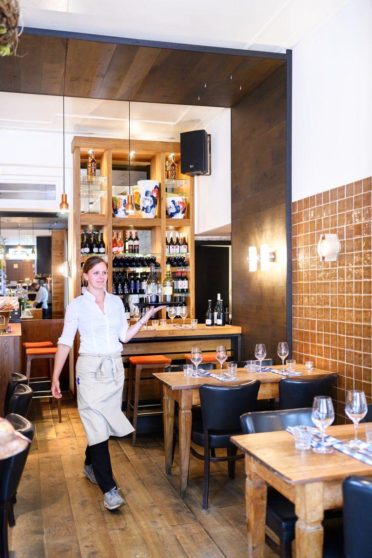 Restaurant Madeleine in Utrecht. Beeld Els Zweerink
