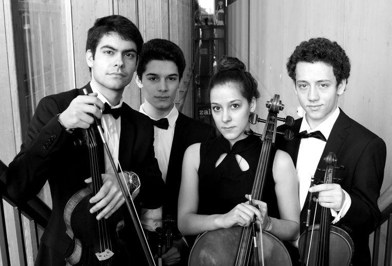 Conservatoriumstudenten presenteren hun resultaat tijdens het Weekend van de Kamermuziek. Beeld Conservatorium van Amsterdam