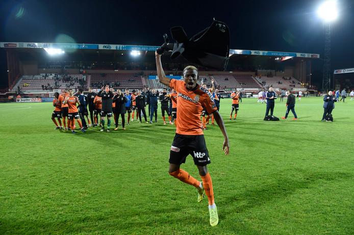 Avec deux buts, Victor Osimhen est l'incontestable homme du match.