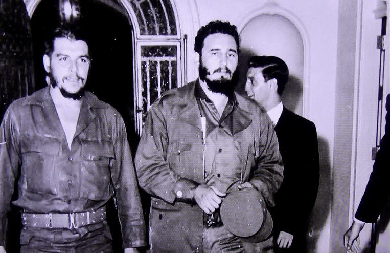 Ché Guevara en Fidel Castro in de documentaire Cuba: Castro vs. The World. Beeld