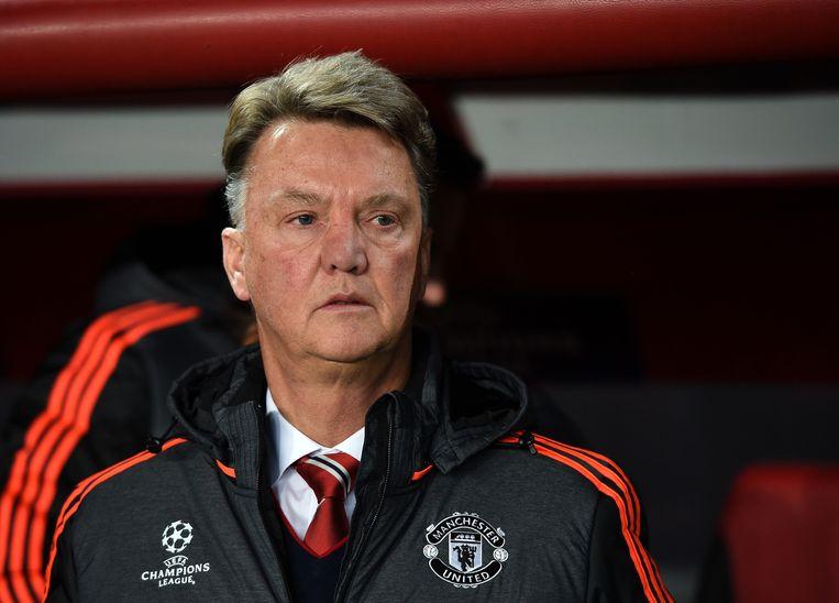 Manchester-coach Louis van Gaal. Beeld getty