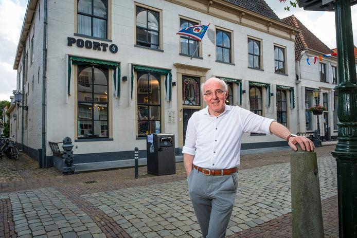 Joop Zwart, secretaris van de Winkeliersvereniging Elburg Vesting,