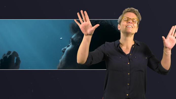 Tijdens het Songfestival vertaalt Mirjam Stolk de liedjes in gebarentaal. Mirjam vertelt hoe dat in zijn werk gaat en laat zien hoe het nummer van Duncan er in gebarentaal uitziet.