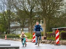 Auto's rijden nog even hard, maar IJsselsteinse Touwlaan wel veiliger voor fietsers