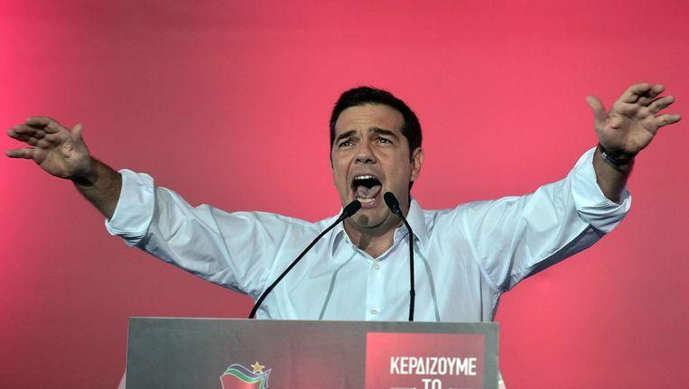 Tsipras. Beeld afp
