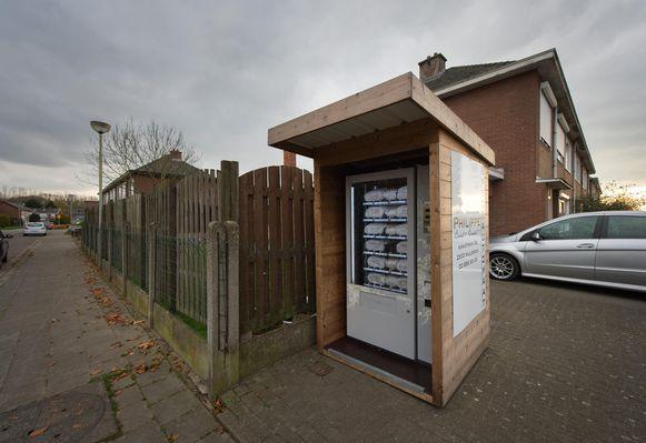 Kan een broodautomaat, zoals hier ter illustratie uit het Antwerpse Tisselt, soelaas bieden?