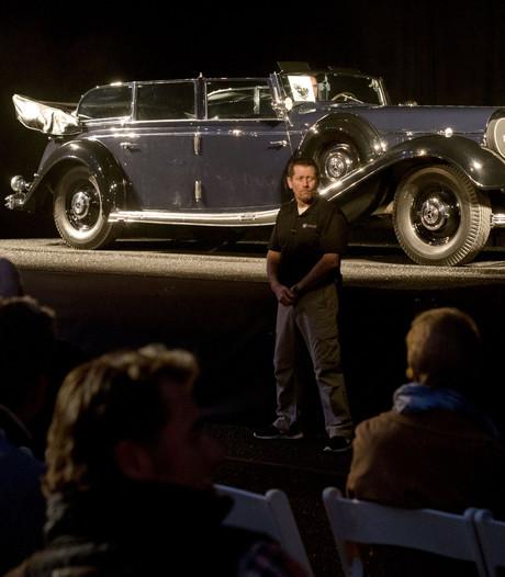 Zeven miljoen dollar vooralsnog hoogste bod op Hitlers Mercedes