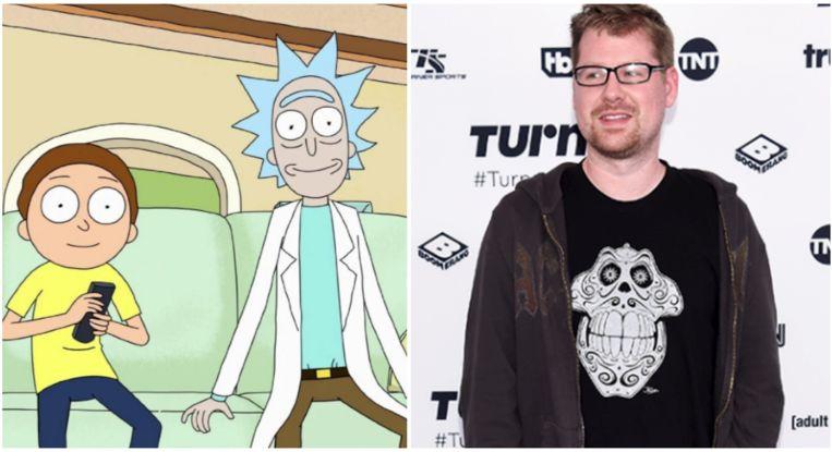 Justin Roiland is zowel Rick als Morty.