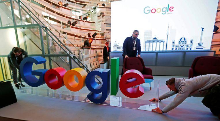 Met het kabinetsplan moet Google op zoek moet naar een nieuwe ontwijkingsconstructie.  Beeld Reuters