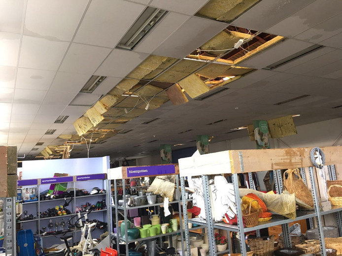 Veel schade bij kringloopwinkel het Goed in Valkenswaard.