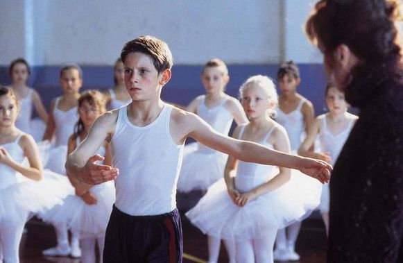 Jamie in 'Billy Elliot', een film uit 2000.