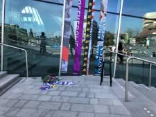 Arnhem hangt de gerecyclede vlag uit