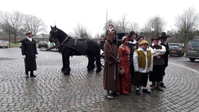 Het comité dat donderdag de aftrap heeft gegeven in aanloop naar het feestjaar 2019, wanneer Terborg 600 jaar stadsrechten heeft.