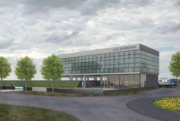 Zo komt het nieuwe Cure-kantoor in Eindhoven-Acht er uit te zien.