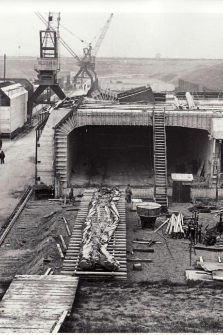 Nacht doorhalen voor bouw tunnel