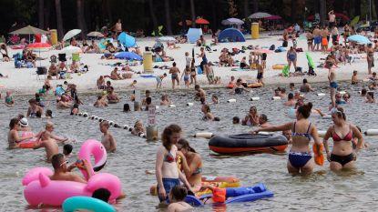 Zwemvijvers verpulveren bezoekersrecords