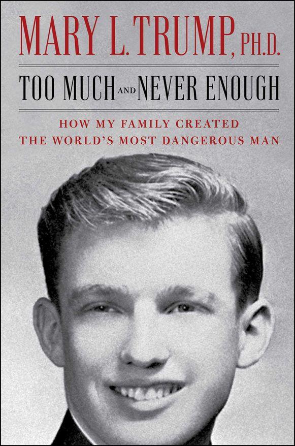De voorpagina van het boek van Mary Trump.