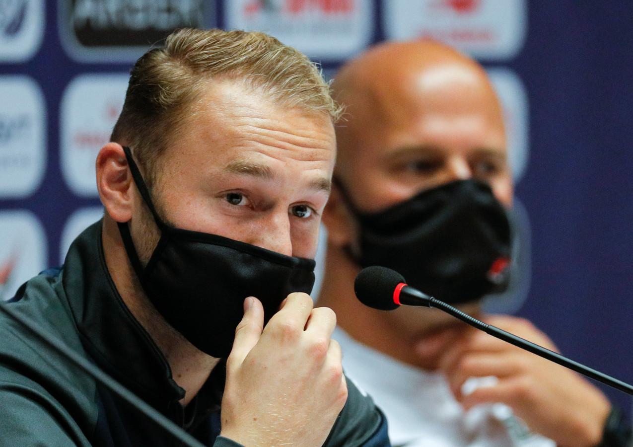 Teun Koopmeiners en Arne Slot blikken vooruit op de wedstrijd tegen Dinamo Kiev.