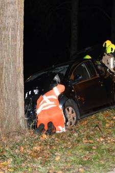 Ongeluk op Reuzenhoeksedijk bij Terneuzen, automobilist gewond