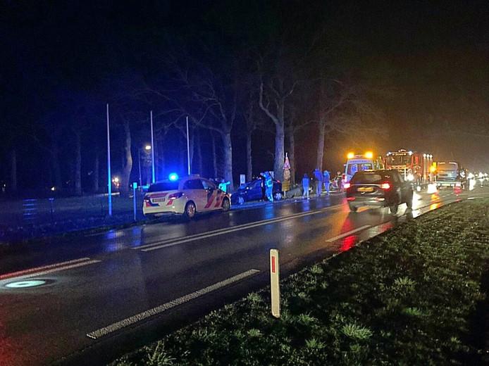 Op de Doetinchemseweg reed een auto achter op een andere auto.